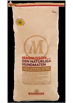 Magnusson Original Den Naturliga Hundmaten  Для взрослых собак очень склонных к аллергии.