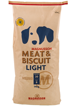 Magnusson Meat & Biscuit Light.  Для взрослых собак с очень низким  уровнем активности