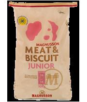 Magnusson Meat & Biscuit Junior Для щенков, молодых собак, беременных и кормящих сук.